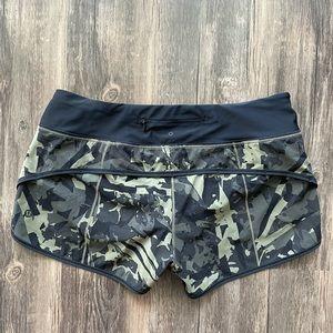 Lululemon Speed Shorts - H2O